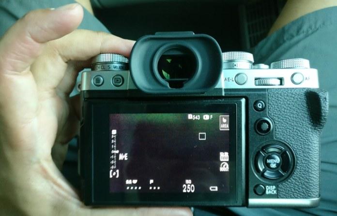 Uso real de batería de la Fujifilm X-T3.