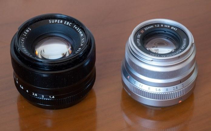Fujinon XF 35mm f/1.4 VS XF 35mm F2