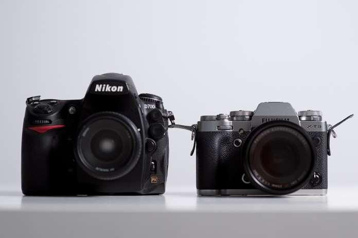 Nikon full frame vs Fuji X-T3.