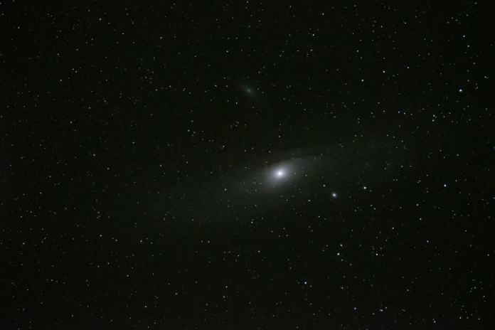 Foto Light para apilado de imágenes en astrofotografía.