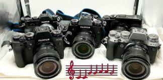 Sonido obturación X-T20, X-T3, X-T2, X-Pro2, X-H1.