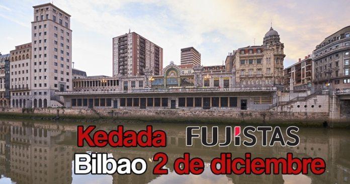 Kedada fujistas en Bilbao 2018.