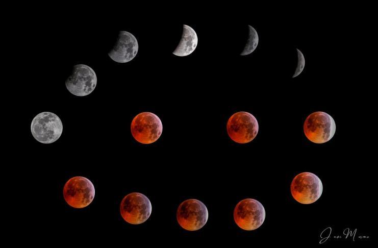 """""""Fases de la luna"""", por Javier Moreno. Fujifilm X-T2 + Fujinon XF 55-200mm F3.5-4.8 R LM OIS."""