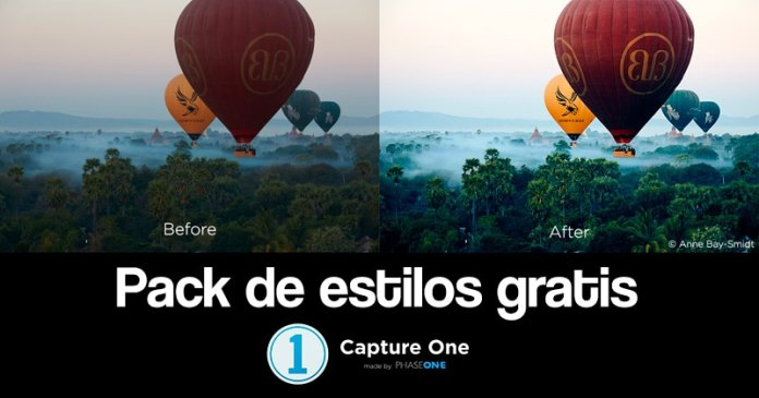 Pack de estilos gratis Capture One.