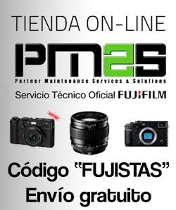 Tienda outlet del servicio técnico de Fujifilm.