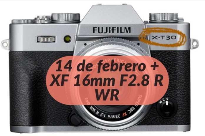 XT30 para el 14 de febrero.