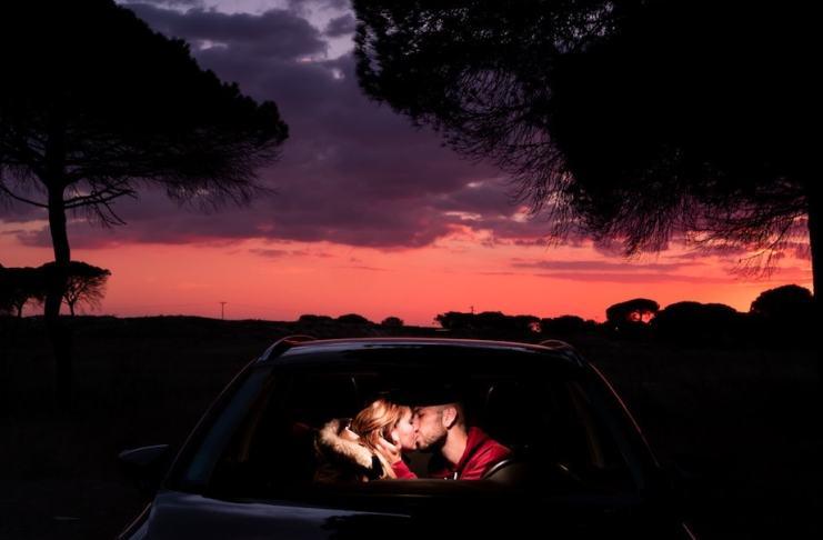 """""""Love is in the car (Autorretrato) """" por Jose Antonio Figueredo. Fujifilm X-Pro2 + XF 35mm F2 R WR."""