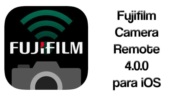 Fujifilm Camera Remote 4.0.0 para iOS
