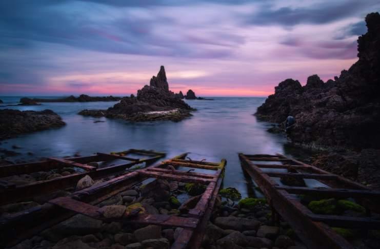 """""""Arrecife de las sirenas"""" por Juan Manuel Fernández Trujillo. Fujifilm X-T2 + Samyang 12mm f/2."""
