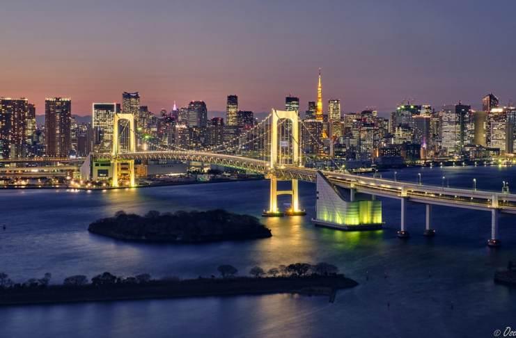 """""""Un skyline de Tokio"""" por Óscar Cabezas. Fujifilm X-T2 + XF 35mm F1.4 R."""