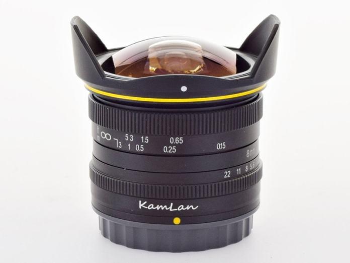 Kamlan 8mm f/3
