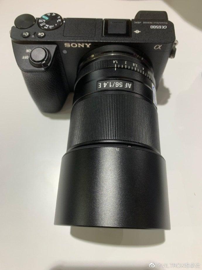Viltrox 56mm f/1.4 para Fuji.