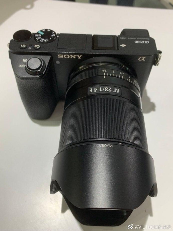 Viltrox 23mm f/1.4.