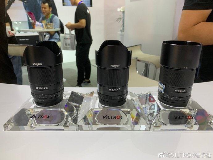 Viltrox 23mm, 33mm y 56mm f/1.4. Próximos objetivos con autoenfoque para Fuji X.