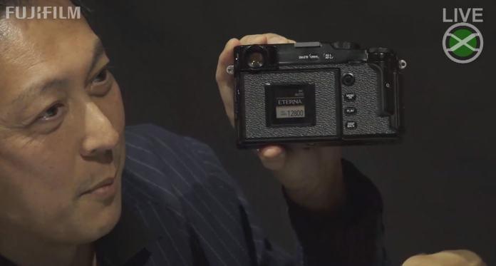 Pantalla de simulación de película de la X-Pro3