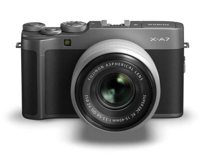 Fujifilm XA7 frente.