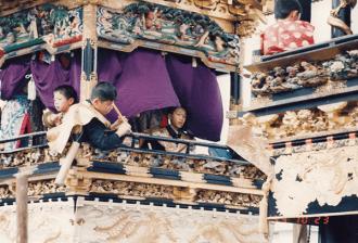 1993年10月23日 三谷祭で山小僧