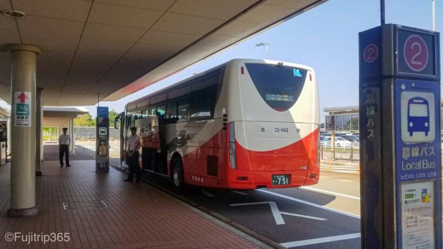 小松空港バスのりば