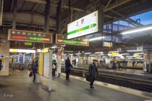 JR上野駅画像