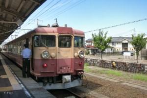 直江津駅1番ホーム