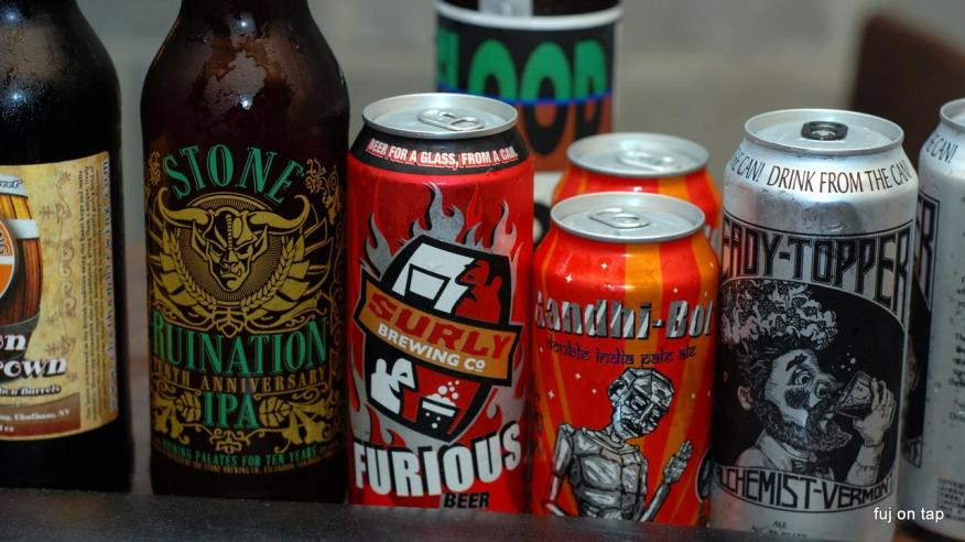 Ruination 10th Anniversary, Furious, Gandhi-Bot, Heady Topper