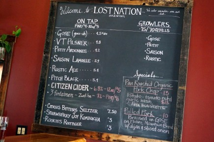Lost Nation Tap List