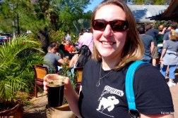 Elise at Peg's Cantina Barrel Day