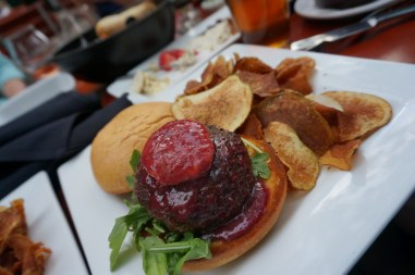 Blue Monk Burger