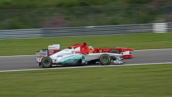 F1 追い越し