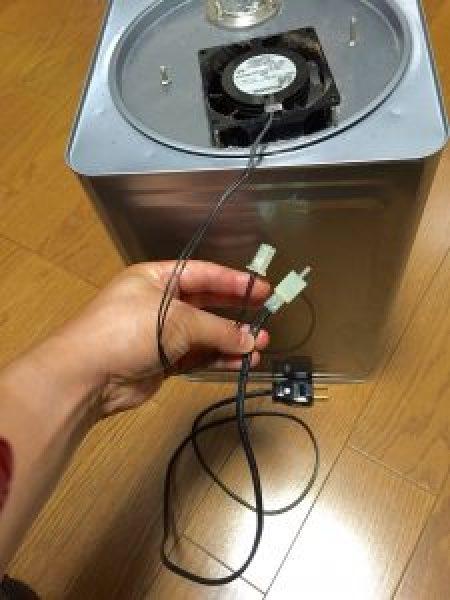 一斗缶 排気装置 電源