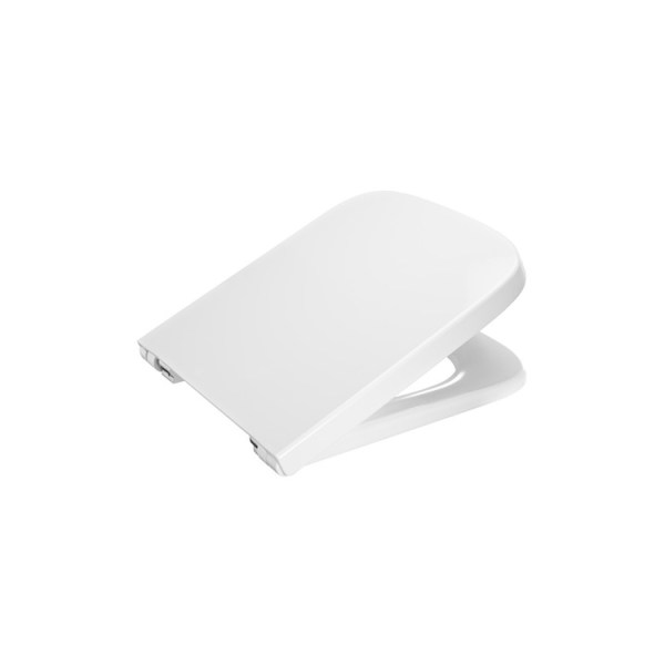 Roca Dama Soft-closing compact lacquered seat and cover for toilet