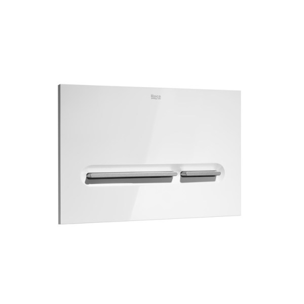 Roca In-Wall PL5 DUAL – Dual flush operating plate for concealed cistern