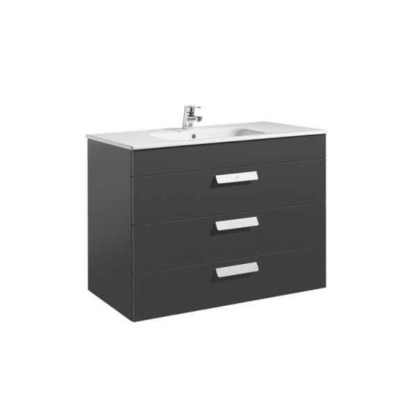 Roca Debba Unik (base unit with three drawers and basin)