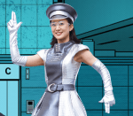 エレナビ(三菱電機)CMの女優は誰?エレベーター前で案内をする女性が可愛い!