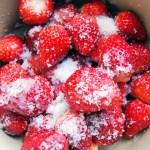 いちごジャムの究極簡単レシピ!砂糖の種類と分量は?ペクチンとは?