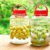 果実酒の実は再利用できる?果実を取り出すタイミングと活用レシピ