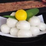 お月見団子の作り方白玉粉&上新粉&だんご粉レシピ。アレンジ方法も!