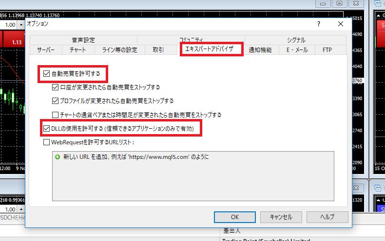 XM 自動売買 EA 設定方法