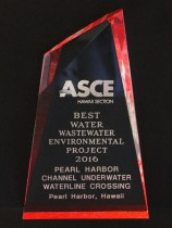 2016 ASCE Best Water Wastewater Environmental Project