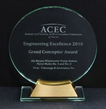 2018 ACECH Engineering Excellence - Grand Conceptor Award