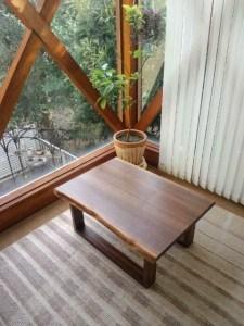 無垢手作りリビングテーブル