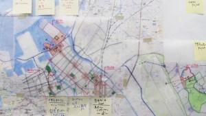 福岡市における開発計画図
