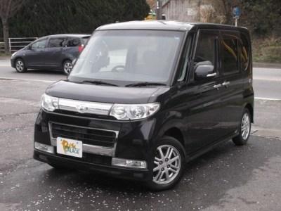 ダイハツ タント 660 カスタム Vセレクション 人気のブラック  52万円