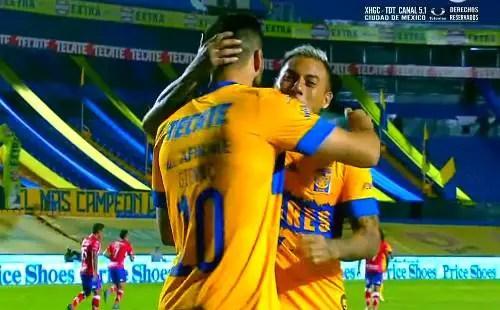 Tigres vs Atlético San Luis 2-0 Jornada 13 Torneo Apertura 2020