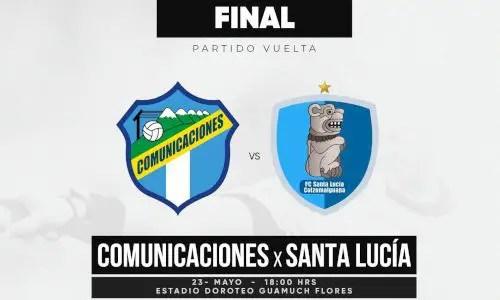 Comunicaciones vs Santa Lucía