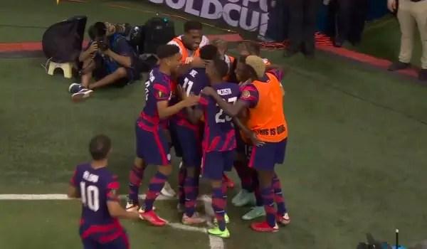 Estados Unidos vs Martinica 6-1 Jornada 2 Copa Oro 2021