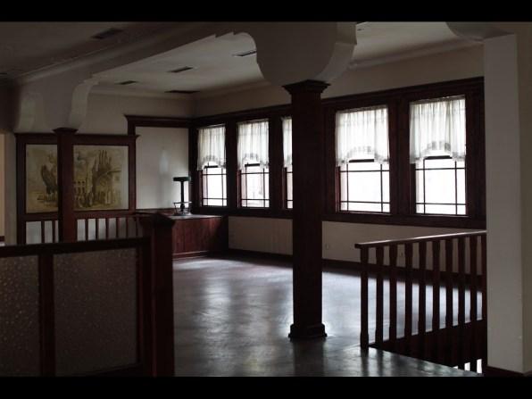 Loft area of historic villa