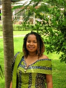 Brenda McGadney in Ghana