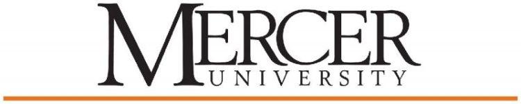 Mercer University 2017 loho