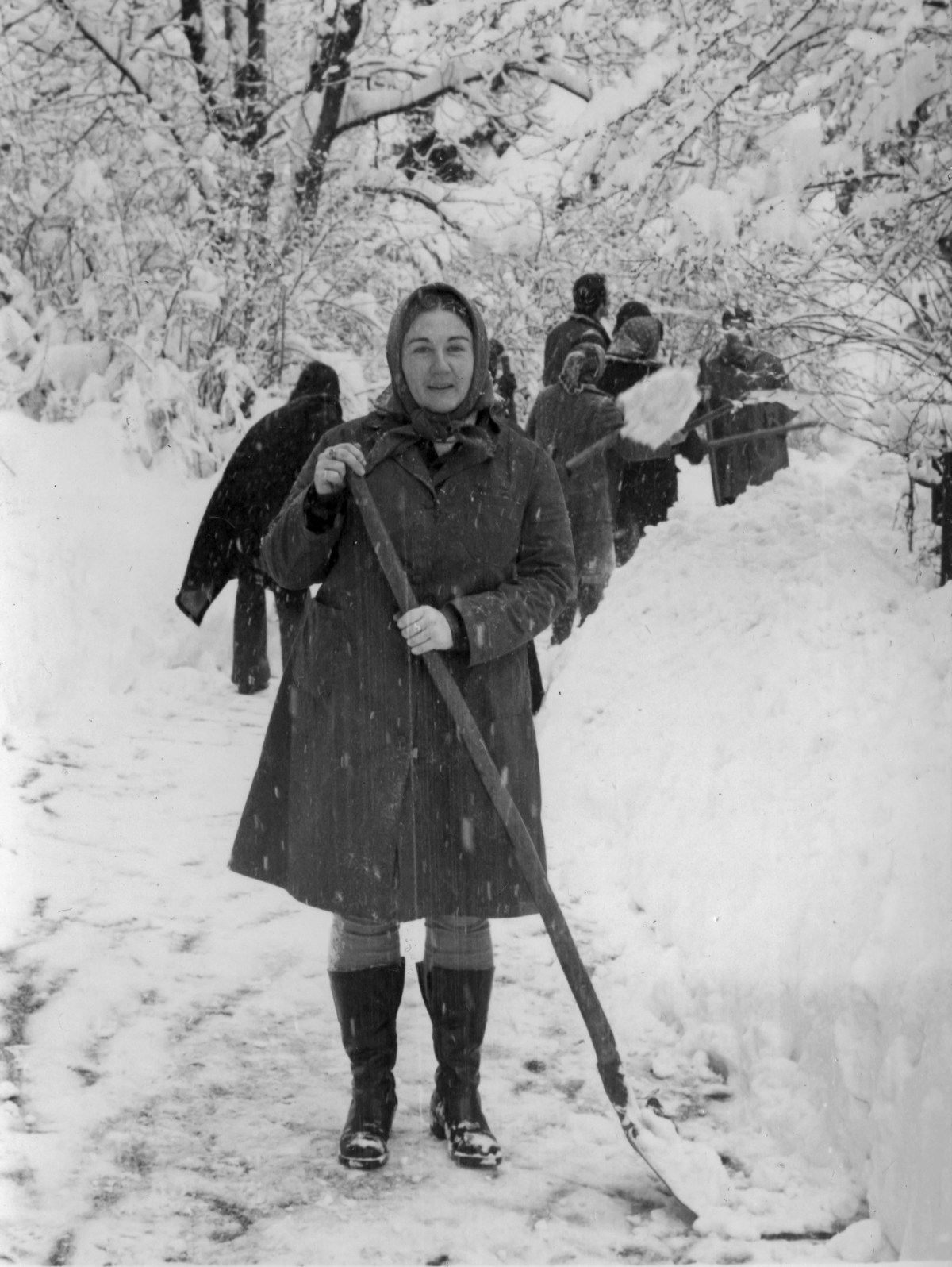 The big snow of 1976 – Judith A Rasson – Bosnia 1975